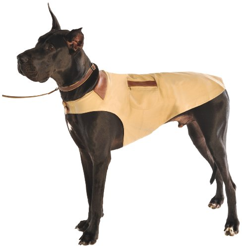 Dog Gone Smart 10-Inch Barn Jacket for Dogs, Wheat