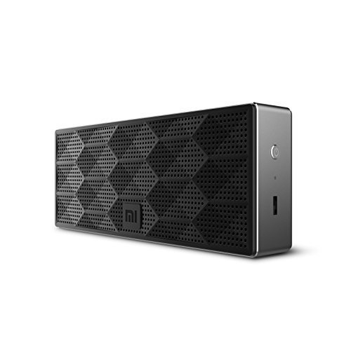 Xiaomi Speaker Wireless Portable Stereo Mini Bluetooth 4.0 Square Box Speakers Outdoor Subwoofer for Smartphones & Tablets - Black Color