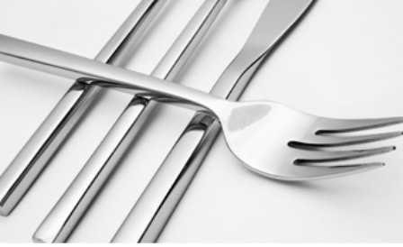 Fortessa Arezzo 5 Piece Stainless Steel Place Setting