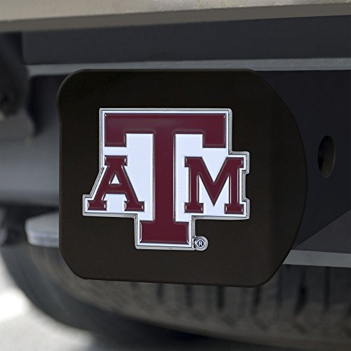 FANMATS NCAA Texas A&M Aggies Texas A&M Universitycolor Hitch - Black, Team Color, One Size
