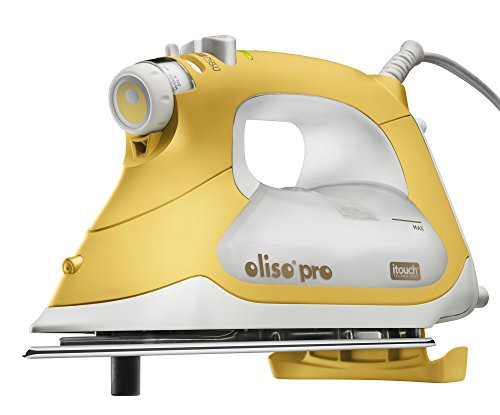 Oliso Pro TG1600 Smart Iron with iTouch Technology, 1800 Watts, Yellow by Oliso