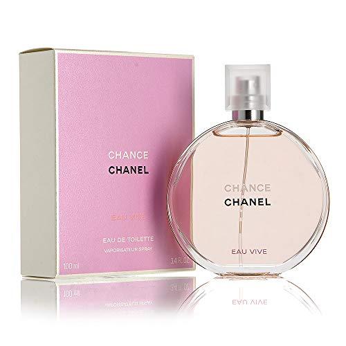 Chanél Chance Eau Vive Eau de Toilette Women Spray 3.4 OZ 100ml (Chanel No 5 Eau De Toilette)