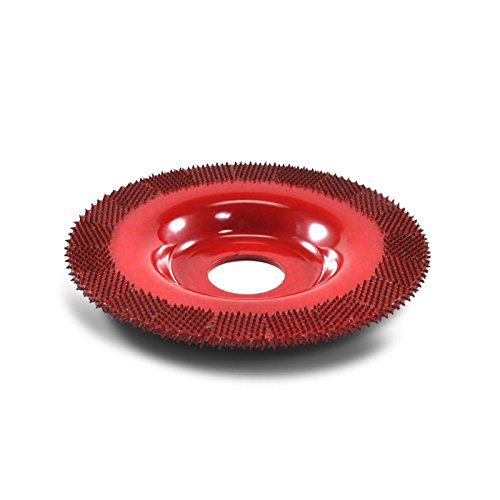 4'' Flat Face Grooving Disc (Medium Grit) 7/8'' Bore