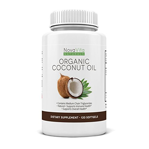 Organic Coconut Capsules Softgels 1000mg product image