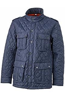James & Nicholson Steppjacke Mens Diamond Quilted Jacket - Chaqueta Hombre