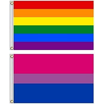 cabecera de lona y doble costura color vivo y resistente a la decoloraci/ón UV Bandera de orgullo l/ésbico Anley Fly Breeze de 3 x 5 pies bandera del orgullo l/ésbico con ojales de lat/ón de 3 x 5 pies