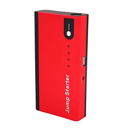 Duoying Power Kit Jump Starter Kit multifunción con LED Rojo 12V 1A DIY Cargador de batería de Emergencia