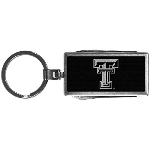 (Siskiyou Sports NCAA Texas Tech Red Raiders Multi-Tool Key Chain, Black)