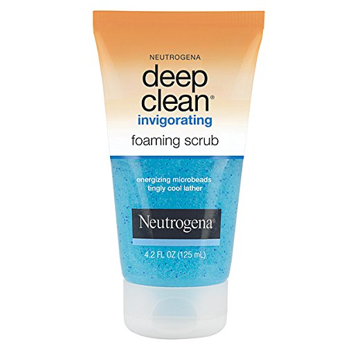 Deep Clean Foaming (Neutrogena Deep Clean Invigorating Foaming Scrub 4.2 Oz (3 Pack))
