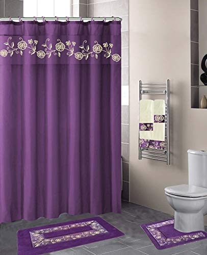 Top purple shower curtains for bathroom sets for 2020