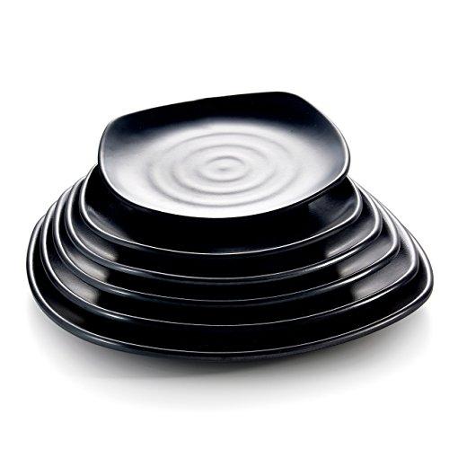1 Pc Kinglang Melamine Plastic Classical Dinner &Sushi Plate for Japanese Restaurant by Kinglang (Image #1)