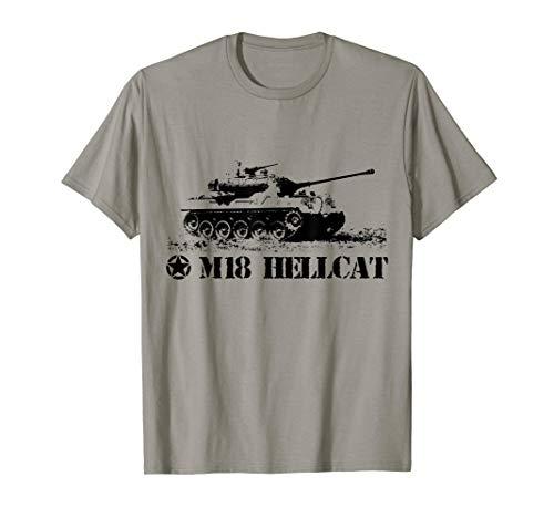 - M18 Hellcat tank destroyer WW2 US Army