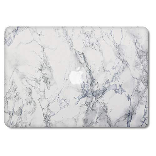 GMYLE MacBook Pro 13 Inch Case 2015 A1502 NO CD ROM, Soft-Touch Smooth Snap On Matte Plastic Hard Pattern Cover for Apple Mac Pro 13 Retina Display Older Version A1425 2016 2017 Release - Blue Stone