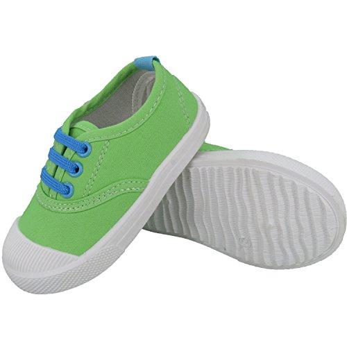 Green Girls Sneakers - 1