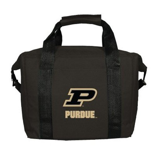 Kolder 12 Pack Cooler Bag - NCAA Purdue Boilermakers Unisex Soft Sided