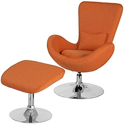 Amazon.com: Hebel Egg Series Fabric Accent Chair with ...