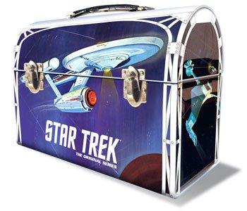 Star Trek Lunch - Polar Lights 1/1000 TOS Star Trek USS Enterprise in Lunchbox Tin Model Kit