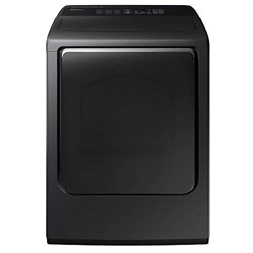 Samsung DVE52M8650V 7.4 Cu. Ft. Black Stainless Electric Steam Dryer DVE52M8650V/A3