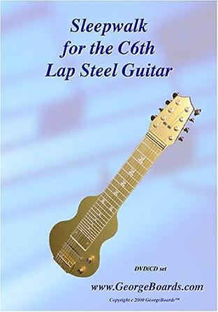 Amazon.com: Lap Steel Guitar Instructional DVD GeorgeBoards ...