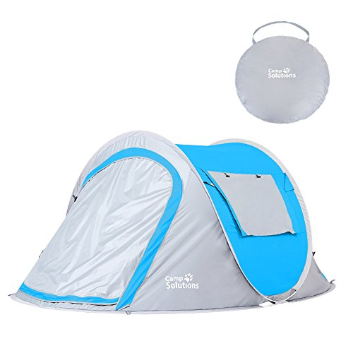 Pop Up Tent Beach Automatic Instant Setup Water Resistant Ventilation and Anti-UV for 2-3 Person for Camping Sun Shelter