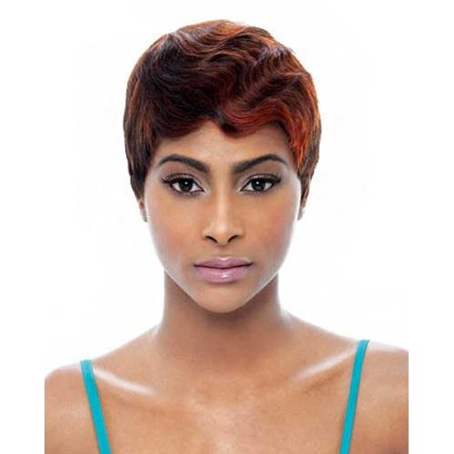 Janet Collection Human Hair Wig - Mommy 4-FS1B/27