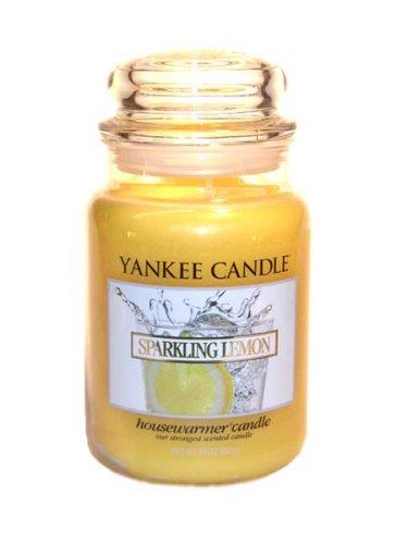 Yankee Candle Sparkling Lemon Large Jar