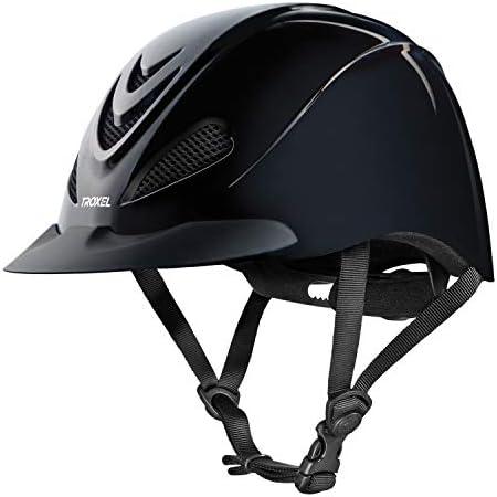 トロクセルリバティヘルメット、ブラック、ミディアム