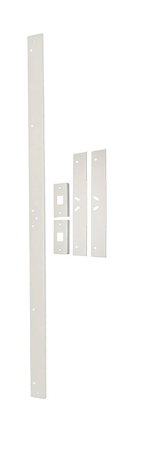Door Armor MAX Complete Door Reinforcement Set in White Door