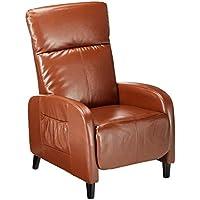Best Selling Home 344805 Trenton Hazelnut Brown Leather Recliner