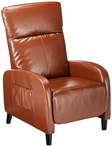 Christopher Knight Home 344805 Trenton Hazelnut Brown Leather Recliner