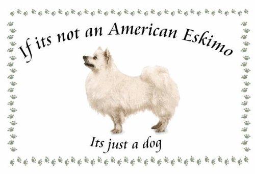 Amerian perro de esquimal - novedad perro Llaveros - si su ...
