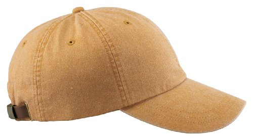 Low-Profile Pigment-Dyed Cap - Mustard - One Size ()