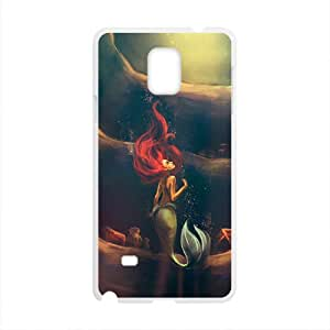 BYEB The little mermaid Case Cover For samsung galaxy Note4 Case