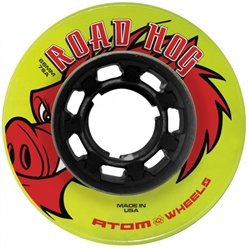 (Skate Out Loud Atom Road Hog Outdoor Roller Skate Wheels)