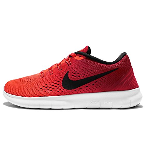 Nike Women 's Wmns Free RN, total crimson/Black de Gym Red de White, 5.5 US