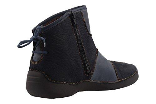 Josef Seibel 59678-VL771 Fergey 10, bottes femme Bleu