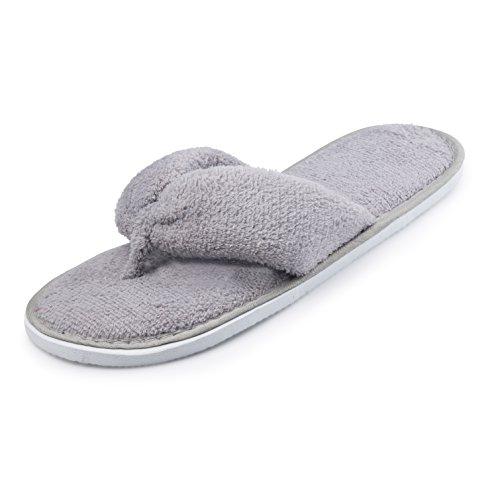 3c37a3b5d313 Women s Spa Thong Memory Foam Indoor Outdoor Slippers 85%OFF ...