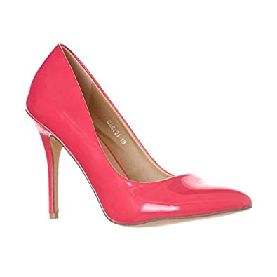 Amazon.com | Riverberry Women's Gaby Pointed Closed Toe Stiletto Pump