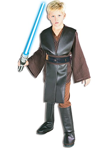Star Wars Child's Deluxe Anakin Skywalker Costume, Large -