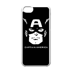 iPhone 5C Captain America pattern design Phone Case