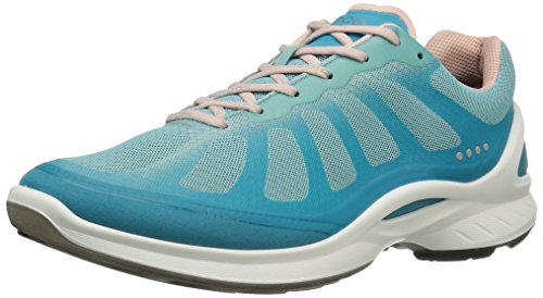 ECCO Women's Biom Fjuel Racer Fashion Sneaker, Capri Breeze/Aquatic/Rose Dust, 40 EU/9-9.5 M -