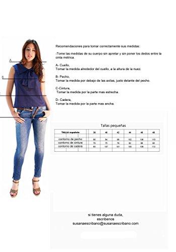 Mujer Escribano Gris Susana Pantalones Para aYxzU
