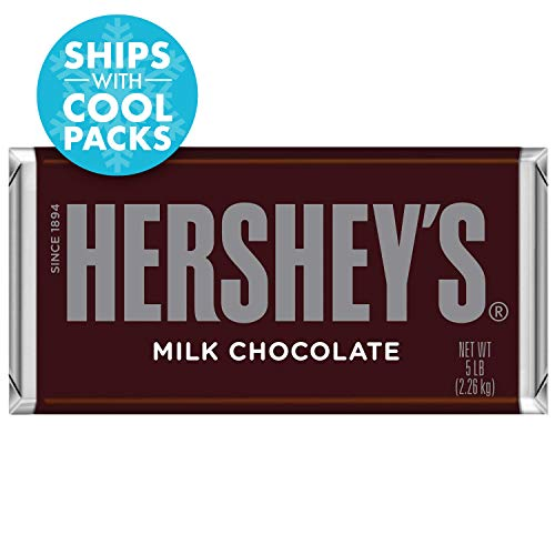 HERSHEY'S 5 Pound Chocolate Candy Bar Gift -