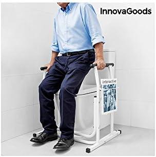 innovagoods ig115694 Sicherheit-Halterung mit Zeitungsständer für Toilette