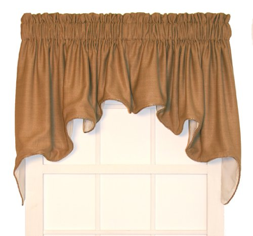 Hampton Bay Lined Duchess Swags Valance Pair 100 Inch by