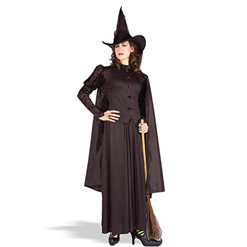 Forum Novelties Women's Classic Witch Costume - Pick Size (X-Large, Black)