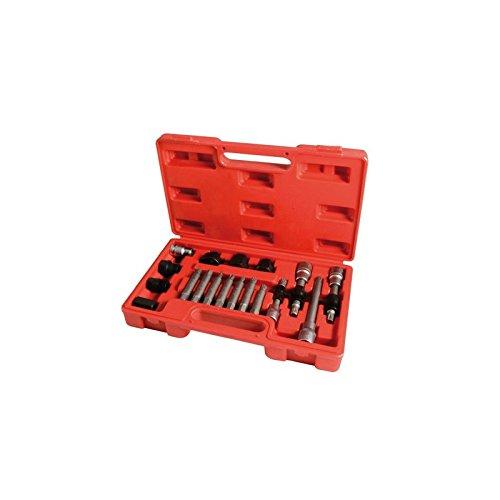 Kit estrattori per pulegge debrayable di Alternatore trifase Multi Marche –  18 pezzi Autobest 324911