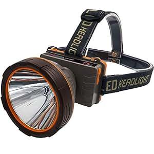 XUANLAN Strong Head Light High Power Charging Super Bright Outdoor Waterproof Head-Mounted Lamp, Super Long-Range Long Life