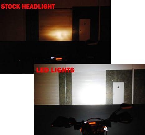 Mini Trail Lights OZ-USA LED CREE Spot Motorcycle Offroad Dual Sport Enduro Fog KTM Hid /™