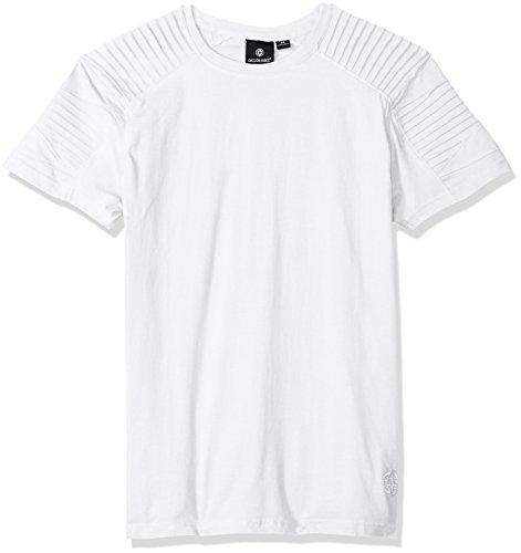 shirt T rotondo alta Swell con da grande collo di di guscio e d'uovo uomo bianca Kora RRrdqT